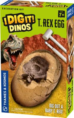 I Dig It Dinos - T Rex Egg Exc Cover Image