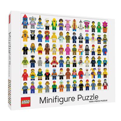 LEGO Minifigure Puzzle Cover Image