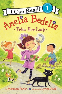 Amelia Bedelia Tries Her Luck Cover