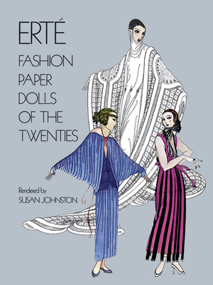 Erté Fashion Paper Dolls of the Twenties (Dover Paper Dolls) Cover Image