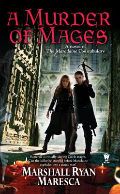 A Murder of Mages (Maradaine Constabulary #1) Cover Image