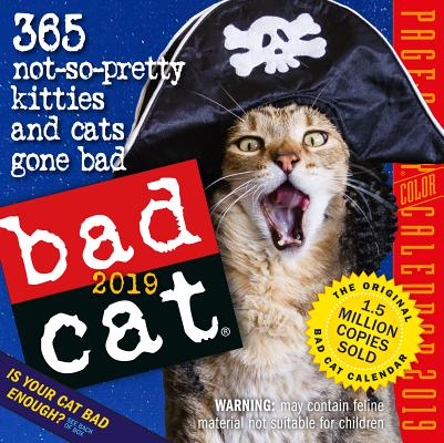 Bad Cat Page-A-Day Calendar 2019 Cover Image