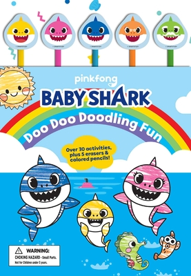 Pinkfong Baby Shark: Doo Doo Doodling Fun (Pencil Toppers) Cover Image