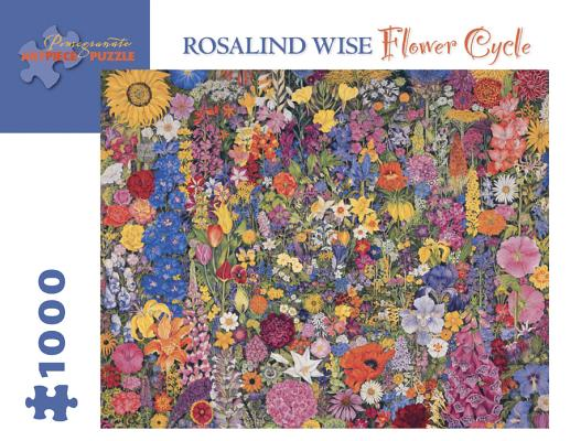 Flower Cycle 1,000-Piece Jigsaw Puzzle Cover Image