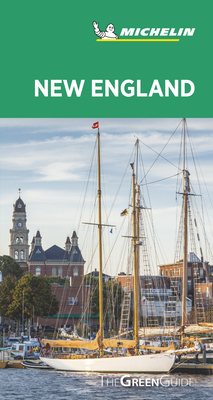 Michelin Green Guide New England: (travel Guide) Cover Image