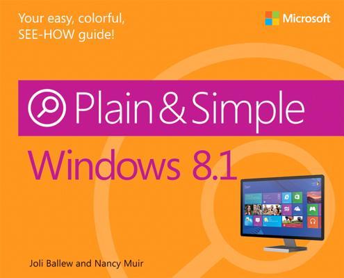 Windows 8.1 Plain & Simple Cover