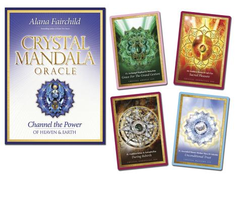 Crystal Mandala Oracle: Channel the Power of Heaven & Earth Cover Image