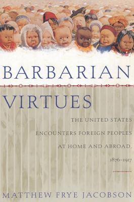 Cover for Barbarian Virtues