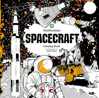 Spacecraft: A Smithsonian Coloring Book Cover Image