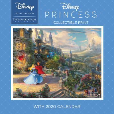 Thomas Kinkade Studios: Disney Dreams Collection 2020 Collectible Print with Wal: Disney Princess Cover Image