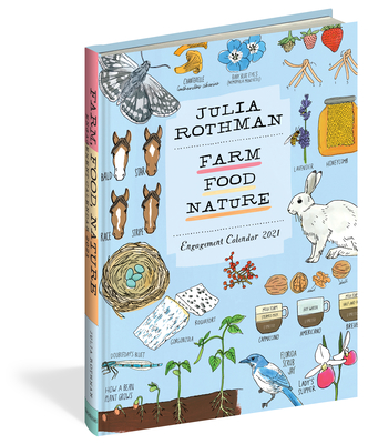 Julia Rothman: Farm, Food, Nature Engagement Calendar 2021 Cover Image