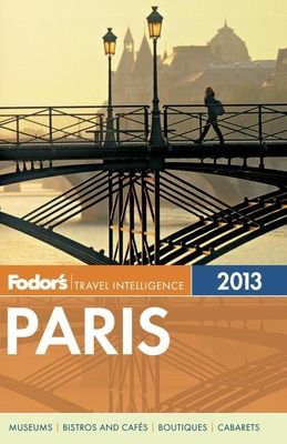 Fodor's Paris 2013 Cover