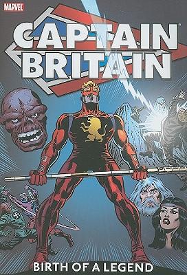 Captain Britain, Volume 1 Cover