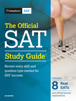 The Official SAT Study Guide, 2018 Edition Cover Image
