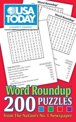 USA TODAY Word Roundup: 200 Puzzles from The Nation's No. 1 Newspaper (USA Today Puzzles #22) Cover Image