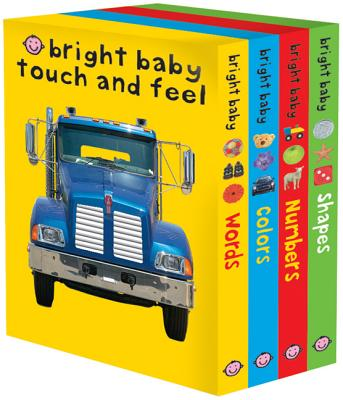 Bright Baby Touch & Feel Slipcase 2: Includes Words, Colors, Numbers, and Shapes (Bright Baby Touch and Feel) Cover Image