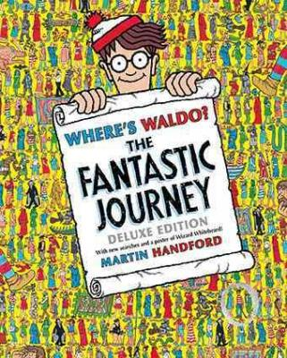 Where's Waldo? The Fantastic Journey: Deluxe Edition Cover Image