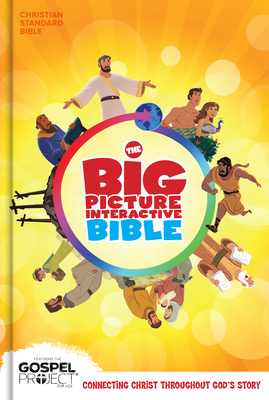 The CSB Big Picture Interactive Bible, Hardcover Cover