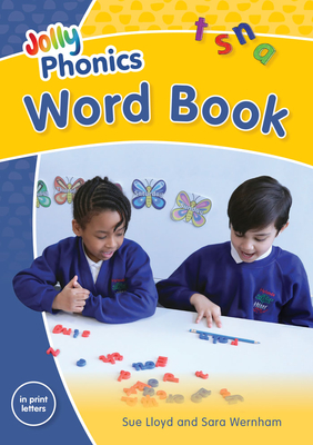 Jolly Phonics Word Book in Print Letters Cover Image