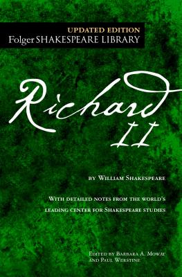 Richard II (Folger Shakespeare Library) Cover Image