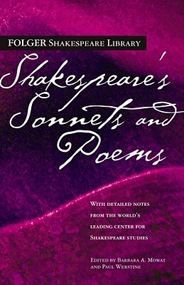 Shakespeare's Sonnets & Poems (Folger Shakespeare Library) Cover Image