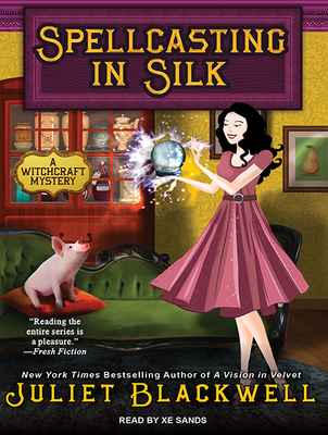 Spellcasting in Silk (Witchcraft Mysteries #7) Cover Image