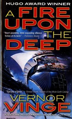A Fire Upon The Deep (Zones of Thought #1) Cover Image