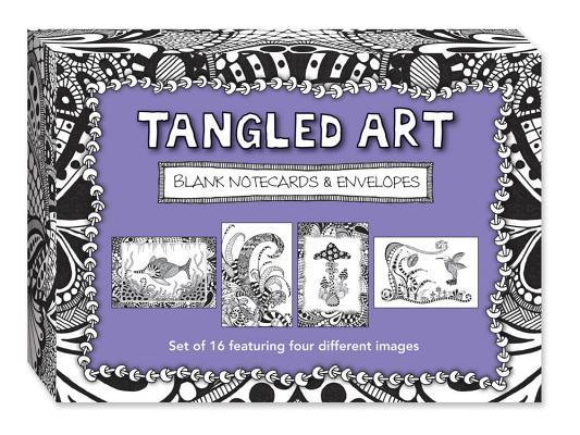 Tangled Art Blank Notecards & Envelopes Cover