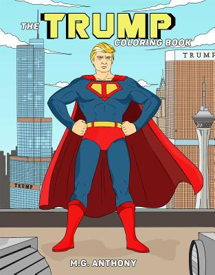 The Trump Coloring Book Cover Image