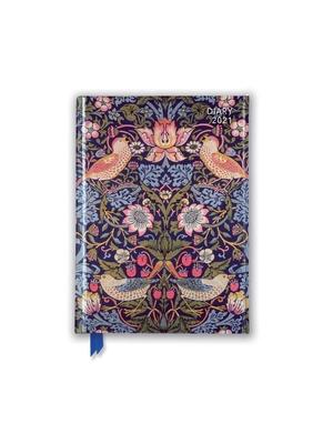 William Morris - Strawberry Thief Pocket Diary 2021 Cover Image