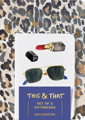 This & That Notebooks (Set of 3) by Kate Schelter Cover Image