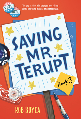Saving Mr. Terupt Cover Image