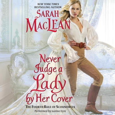Never Judge a Lady by Her Cover Lib/E: The Fourth Rule of Scoundrels Cover Image