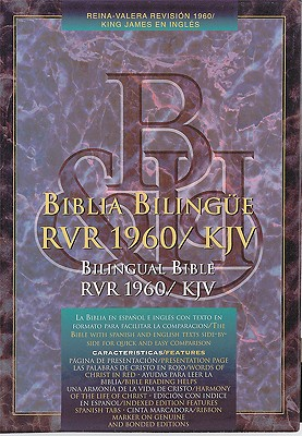 Bilingual Bible-PR-RV 1960-KJV Cover Image