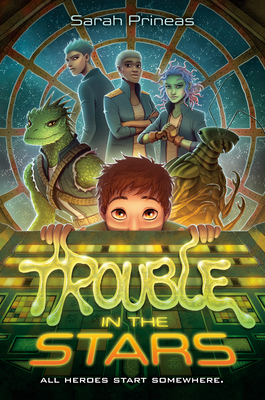 Cover for Trouble in the Stars