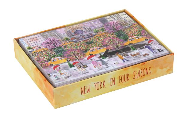 Michael Storrings New York in Four Seasons Luxe Notecards Cover Image