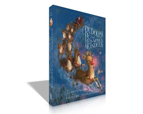 Rudolph the Red-Nosed Reindeer a Christmas Gift Set: Rudolph the Red-Nosed Reindeer; Rudolph Shines Again Cover Image