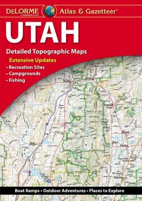 Delorme Atlas & Gazetteer: Utah Cover Image