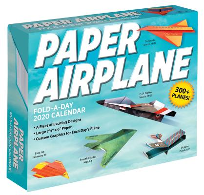Paper Airplane Fold-a-Day 2020 Calendar Cover Image