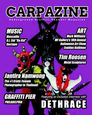 Carpazine Art Magazine Issue Number 25 Cover Image