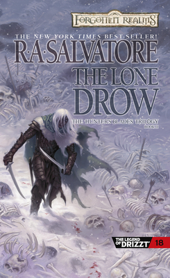 The Lone Drow (The Legend of Drizzt #18) Cover Image