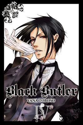 Black Butler, Volume 4 Cover