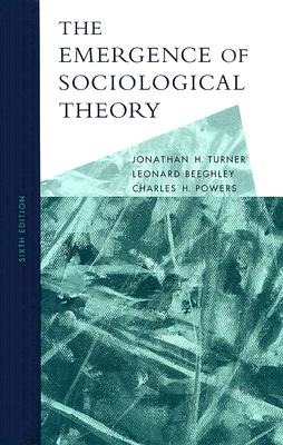 The Emergence of Sociological Theory Cover Image