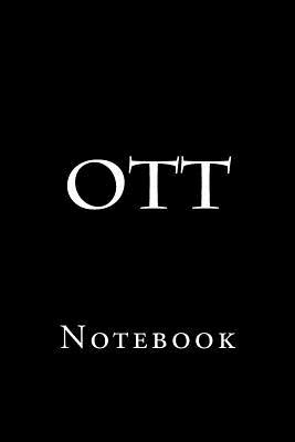 Ott: Notebook Cover Image