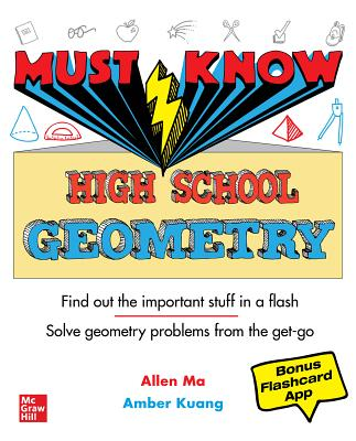 Must Know High School Geometry Cover Image