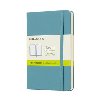 Moleskine Classic Notebook, Pocket, Plain, Blue Reef, Hard Cover (3.5 x 5.5) Cover Image