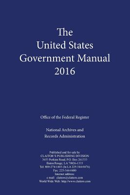 United States Government Manual (2016) Cover Image