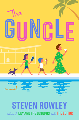 Yellow and Blue Cover of The Guncle