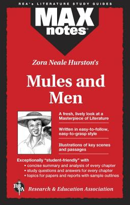 Mules and Men (Maxnotes Literature Guides) Cover Image