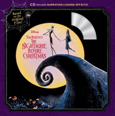 Tim Burton's The Nightmare Before Christmas Book & CD Cover Image